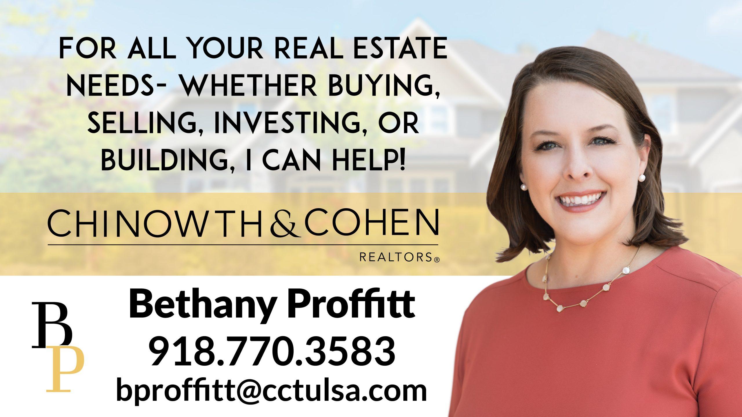 Bethany Proffitt  / Chinowth & Cohen
